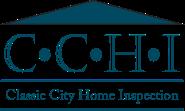 Classic City Home Inspection Logo Blue